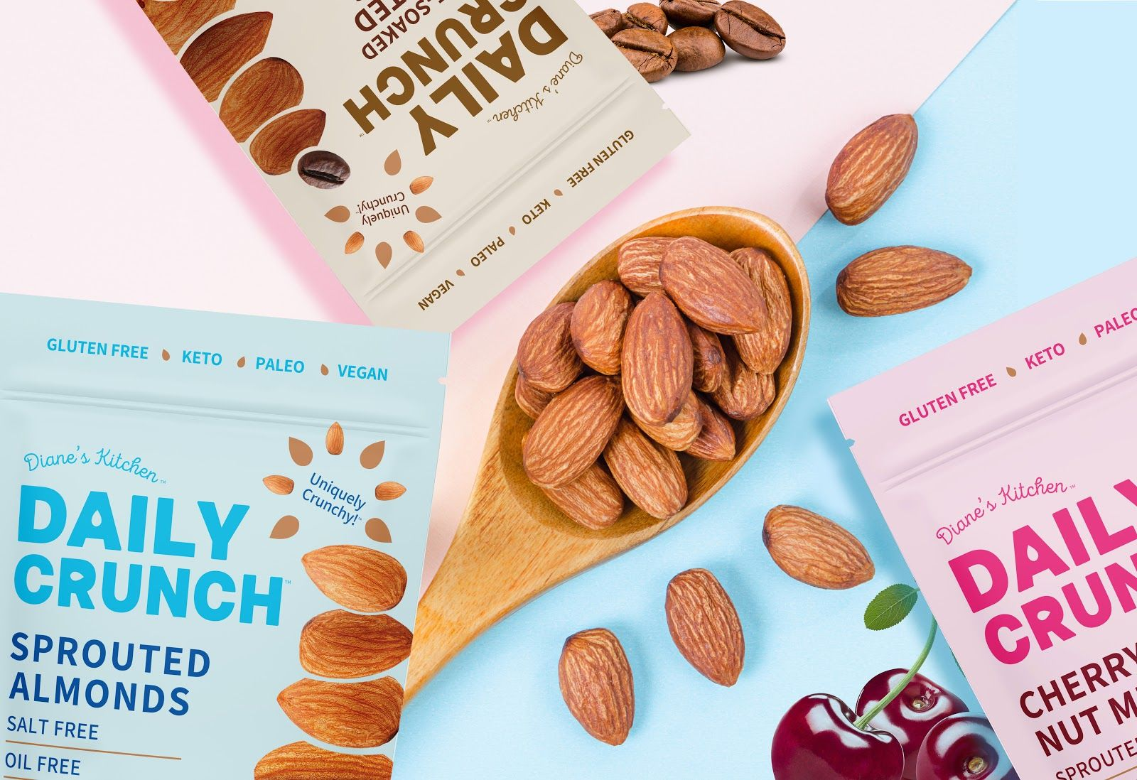 Daily Crunch Snack Almonds