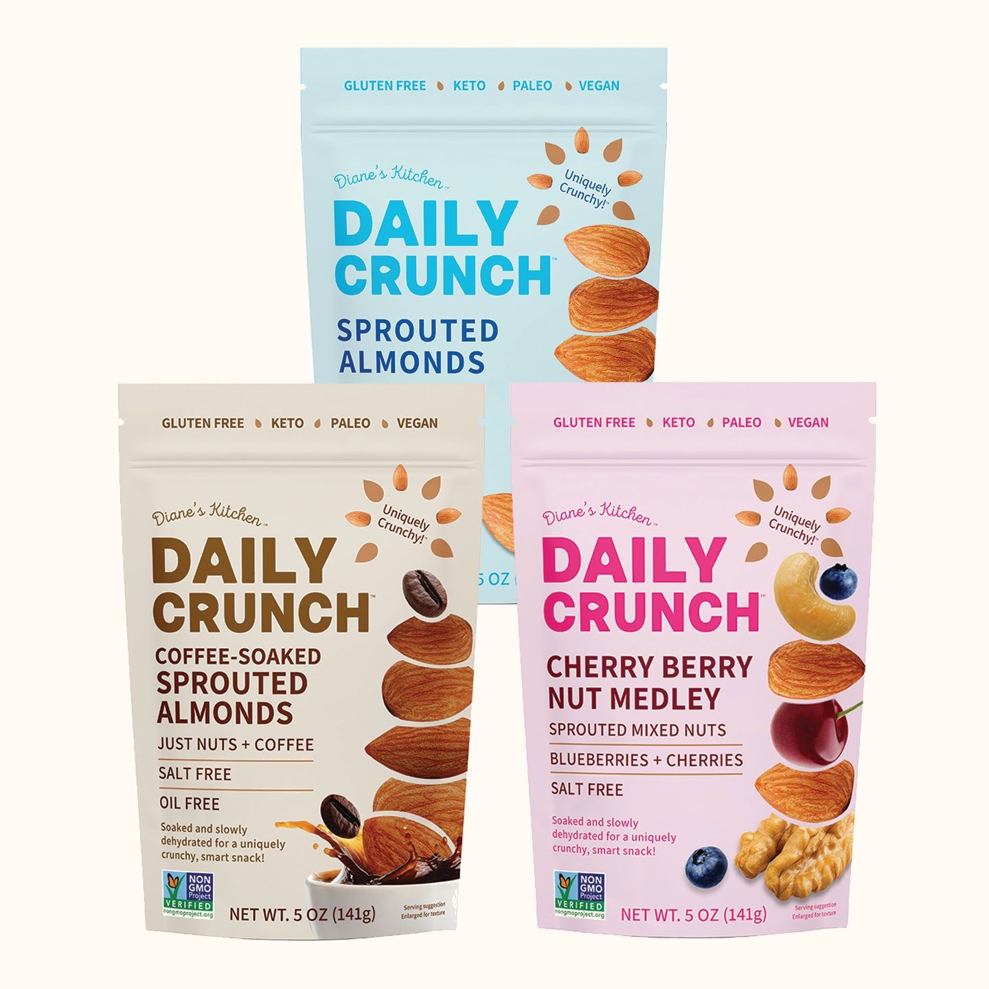 Daily Crunch 5ozBags